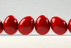 Red Greek Easter Eggs