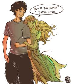 cinash: These two create whole other levels of cuteness. Grover and Juniper Percy Jackson