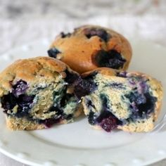 Blueberry muffin recipe - just popped these in the oven, so I guess we'll see how they turn out!