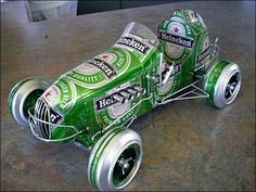An adult soapbox derby car. Pinning for visual ideas on body styles...