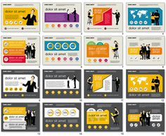 Marketing Presentation in Flat Design for PowerPoint | Ideas PPT ...