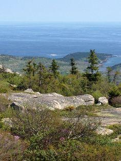 Cadillac Mountain, Aracadia National Park, Maine