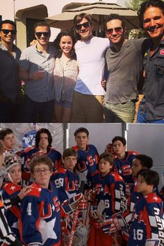It's been 20 years since D2: The Mighty Ducks hit theaters, and to celebrate, cast members including Mike Vitar (Luis Mendoza), Garette Ratliff Henson (Guy Germaine), Marguerite Moreau (Connie Moreau), Vincent LaRusso (Adam Banks), Aaron Lohr (Dean Portman) and Scott Whyte -- who played their memorable rival Gunnar Stahl (the captain for the Iceland team) -- reunited!Though they were missing Joshua Jackson (Charlie Conway) and Emilio Estevez (Coach Gordon Bombay), the cast members did manage…