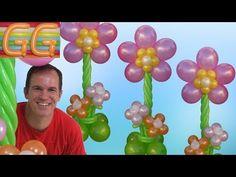 Como Hacer Globos Link Globoflexia Decoracion Con Globos - Figuras-con-globos-faciles