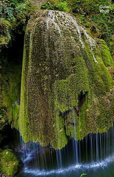 Fantastic, Wonderful photography of Biqar Cascade waterfall in Romania