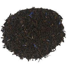 ENGLISH EARL GREY BLUE FLOWER   English Earl Grey Blue Flower is een krachtige, aromatische zwarte thee met een klassieke bergamotsmaak. De subtiele toevoeging van korenbloempjes geeft de thee een exclusief voorkomen. Een prima thee om de dag mee te beginnen óf te breken!  