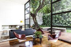 Que tal ter uma árvore na sala? Veja casas que se misturam com o verde - UOL Estilo de vida
