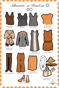 Key pieces for an apple shape. Curvy Fashion, Look Fashion, Plus Size Fashion, Fashion Beauty, Fashion Tips, Apple Body Type, Dressing Your Body Type, Preppy Casual, Made Clothing