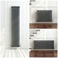 about Traditional Anthracite Horizontal Vertical Vintage Cast Iron Style Radiator Traditional Anthracite Horizontal Vertical Vintage Cast Iron Style Radiator in Home, Furniture & DIY, Heating, Cooling & Air, Radiators Tall Radiators, Home Radiators, Vertical Radiators, Cast Iron Radiators, Kitchen Radiators, Living Room Radiators, Deco Furniture, Furniture Makeover, Cool Furniture