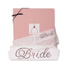 Blushing Bride Darling Lace Set in Classy Bride Keepsake Box!