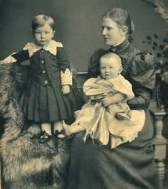 Victorian upper middle class family.
