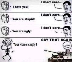 Say that again hihi