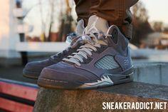Nike Air Jordan V Wolf Grey