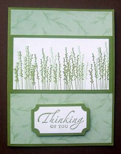 """By CM Scrapper at Splitcoaststampers. Uses stamp from """"Pocket Silhouettes"""" set by Stampin' Up."""