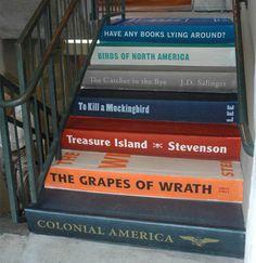 Imagina cada publicação do LAB nos degraus das escadas?