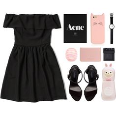 Lovable by via-m on Polyvore featuring Abercrombie & Fitch, Zara, Coast, Rosendahl, Kate Spade, NARS Cosmetics, River Island and Tony Moly