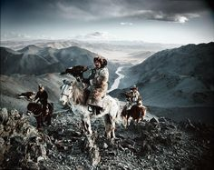"FB | The Red List. | Jimmy Nelson, ""Kazakh Eagle Hunting"", Mongolia, 2011"