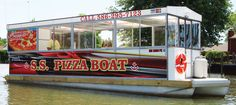 Sorrento's Pizza Boat on Lake St. Clair! - http://jobbiecrew.com/sorrentos-pizza-boat-on-lake-st-clair/