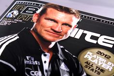 In Black & White magazine designed for the Collingwood Football Club
