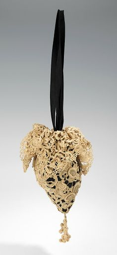 Evening pouch, Design House: Callot Soeurs, Madame Marie Gerber, 1910–15, French, 11 in. (27.9 cm)