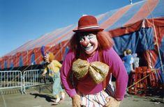 Circus Vargas Clown 1980s