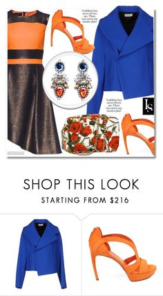 """The New Chic"" by look-shop ❤ liked on Polyvore featuring Balenciaga, Alexander McQueen, polyvoreeditorial and lookshop"