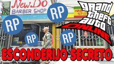 GTA V - ESCONDERIJO SECRETO PARA RP INFINITO + GOD MODE + TOP PARA TROLLAR