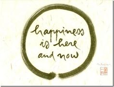 Zen circle with Thich Nhat Hahn's beautiful calligraphy <3