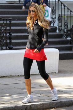 Elle Macpherson Supermodel Style Street Style