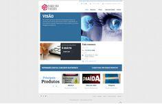 Desenvolvimento de site em HTML e CSS. Link • www.siqueirapassos.com.br