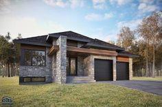 facade maison contemporaine quebec - Recherche Google | Extérieur ...