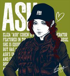 Ash, Rainbow Six Siege, Female Warrior, Woman Warrior