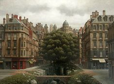 Arnau Alemany was born in Barcelona, Spain in 1948. He studied at the prestigious Massana School of Art of Barcelona, from which he graduated with honors. Alemany is Spain's foremost painter of surrealistic environments and industrialized cities of the past/future, http://artodyssey1.blogspot.co.uk/2009/08/arnau-alemany-arnau-alemany-was-born-in.html