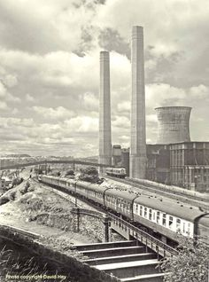 KIRKSTALL Power Station, I attended the blowing of the towers in the late Leeds City, Rochdale, Liverpool Street, British Rail, Train Tickets, England Uk, Model Trains, Old Photos, Brighton
