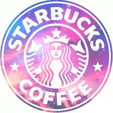 Starbucks is LIFEEE We Heart It starbucks galaxy and pink Starbucks Logo, Pink Starbucks, Starbucks Drinks, Starbucks Coffee, Starbucks Quotes, Coffee Logo, Coffee Menu, Coffee Drinks, Hot Coffee