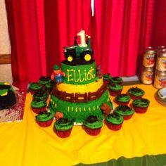 My cousin's little boy's birthday cake