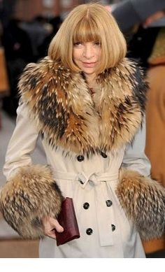lovin the fur/ love that coat..!!