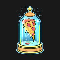 Shop Pizza in a flask food t-shirts designed by NikKor as well as other food merchandise at TeePublic. Pizza Art, Pizza Pizza, Pizza Store, Pizza Kunst, Pizza Food Truck, Mushroom Art, Christmas Ad, Pizza Dough, Pizza Recipes
