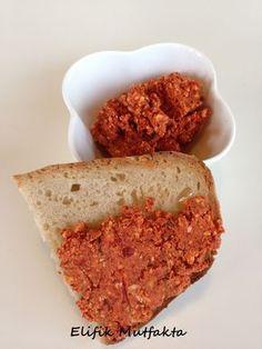 Acılı Girit Ezmesi « Elifik Mutfakta - cheese, walnut, and red pepper spread