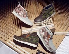 Clarks Hybrids – Spring/Summer 2013 Camouflage Collection
