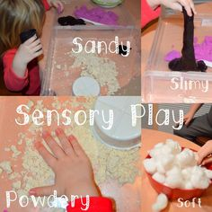 Texture Sensory Play from @kartyliv!