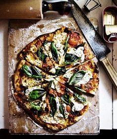 pizzas:: kale and mushroom               kalamata olive, rosemary and sage               zucchini, parmesan and garlic.
