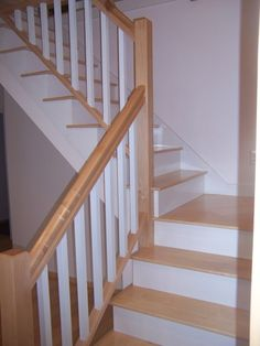 Maple Stair Case