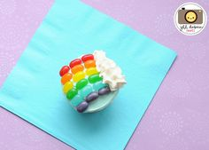 rainbowcupcake by kirstenreese, via Flickr