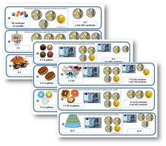 Atelier : le magasin des gourmandises CE1 la monnaie