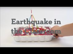 Students learn how engineers design and construct buildings to withstand earthquake damage by building their own model structures using toothpicks and marshmallows. They experiment to see how earthquake-proof their buildings are by testing them in an earthquake simulated in a pan of Jell-O®.