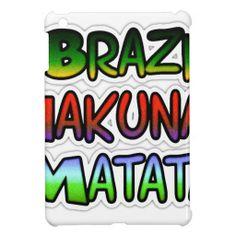 Green Brazil Hakuna Matata Gifts iPad Mini Cover #Green #Brazil #Hakuna #Matata #Gifts #Pad #Mini #Cover