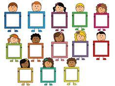 Classroom Labels, Classroom Displays, Classroom Decor, Pre School, Back To School, School Frame, School Labels, School Clipart, Class Decoration