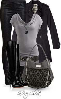 """""""Rock The Black"""" by in-my-closet ❤ liked on Polyvore"""