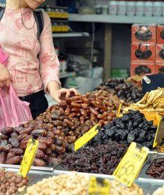 A Food Tour of Israel: Machne Yehuda Outdoor Market in Jerusalem
